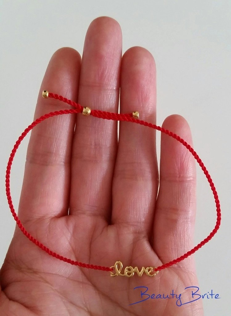 Love Line Bracelet in palm