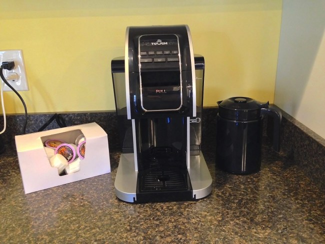 T526S Touch Brewer Gives You A Choice