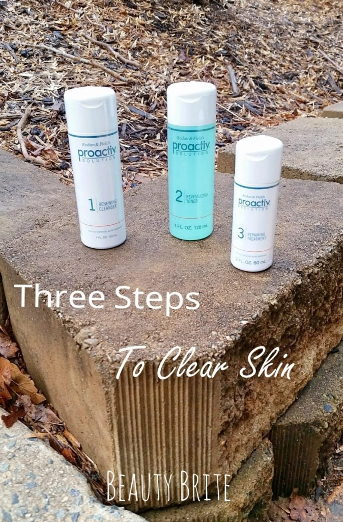 Three Steps To Clear Skin