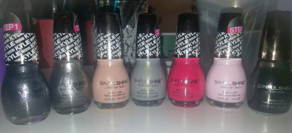 SinfulColors King Kylie Nail Polish Collection