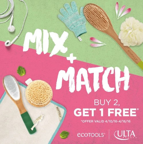 Remix Your Regimen This Spring with EcoTools at ULTA