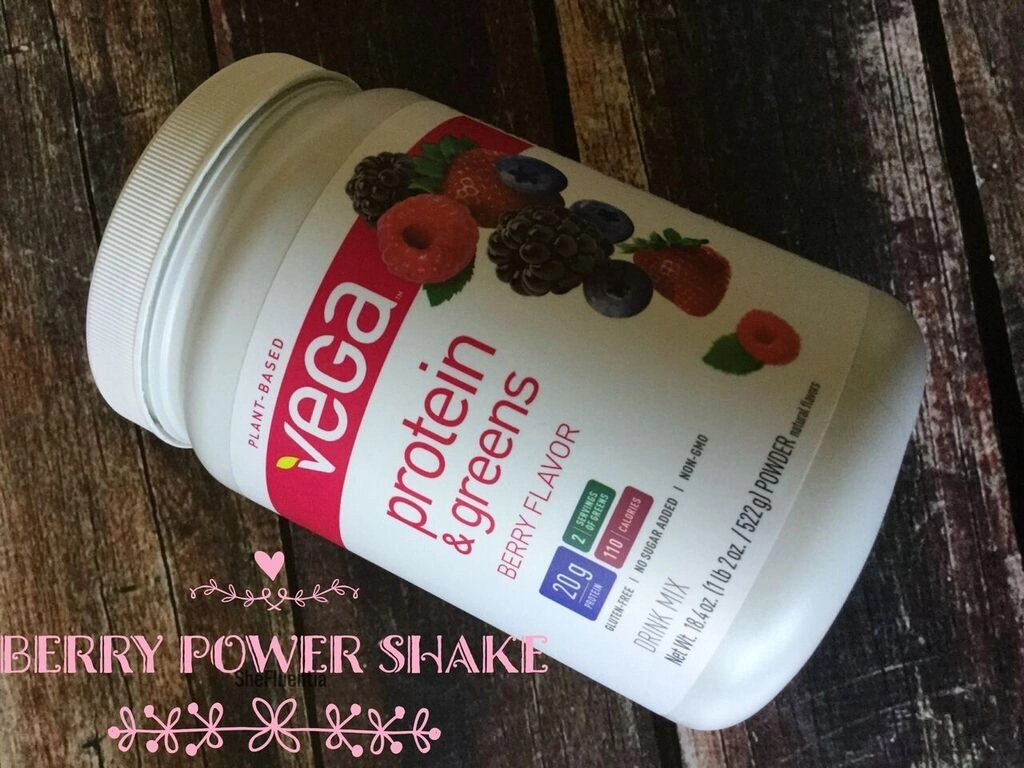 Berry Power Shake Vega Berry Flavor