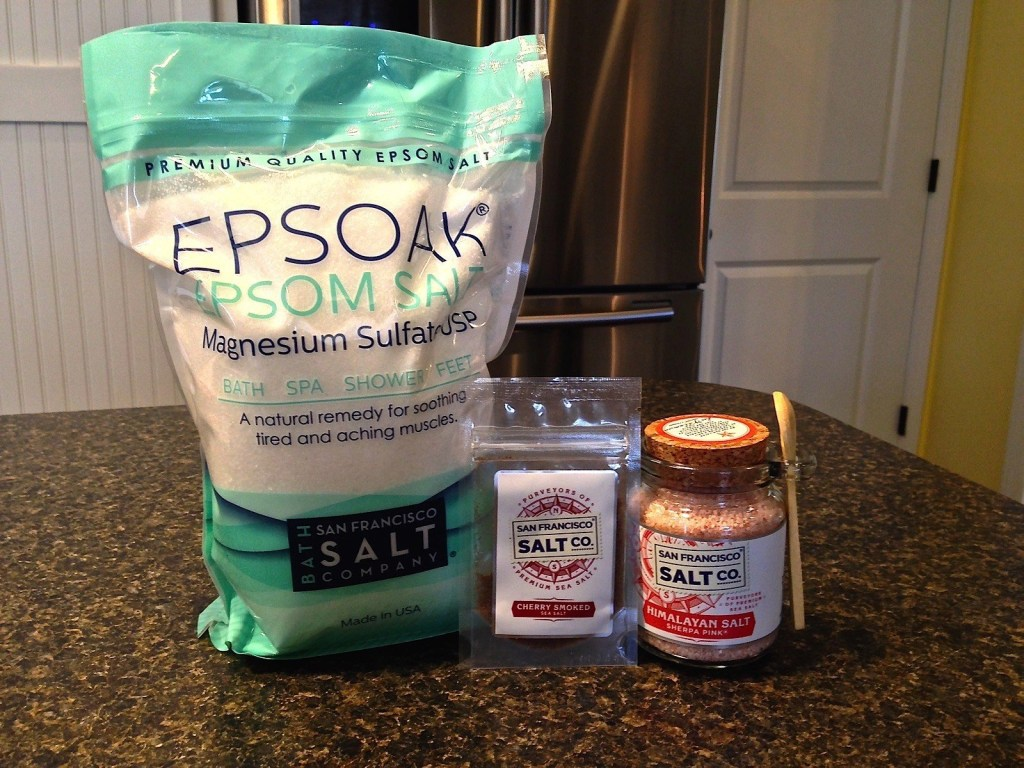 San Francisco Salt Co.® Products - EPSOAK Epsom bath salts, Cherry Smoked Sea Salt, and Himalayan Salt Sherpa Pink®