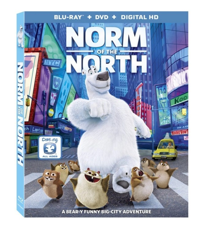 Family Movie Night Is On - Norm of The North DVD family comedy movie