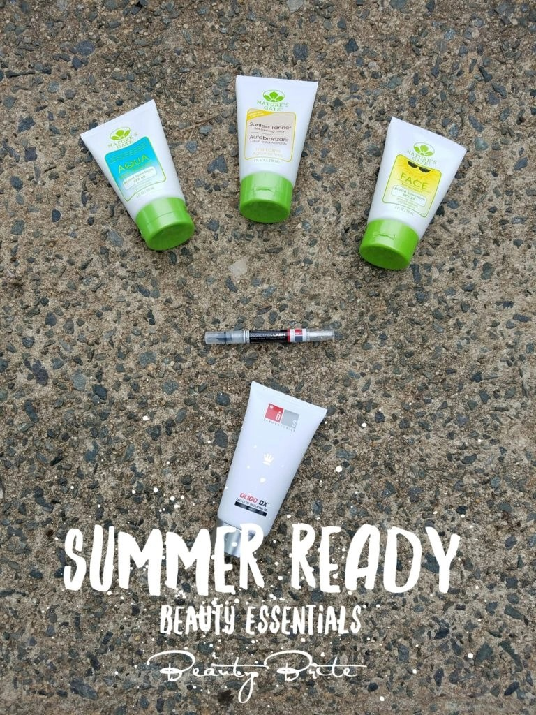 Summer Ready Beauty Essentials