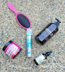 Evening Beauty Routine Products