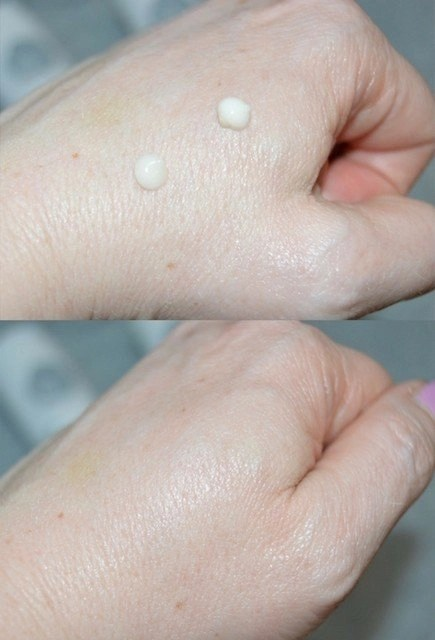 Ao Skincare Fortify Day and Repair Night Moisturizer Swatches