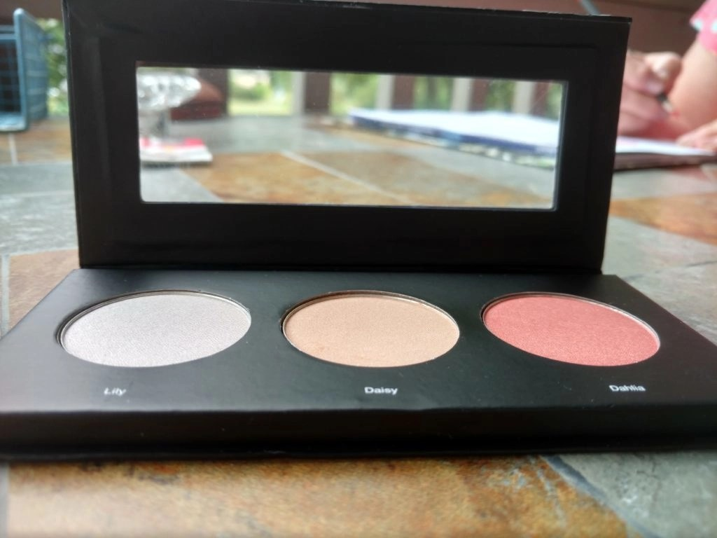 ULTA Beautiful Face Kit Blush and Highlighter Palette