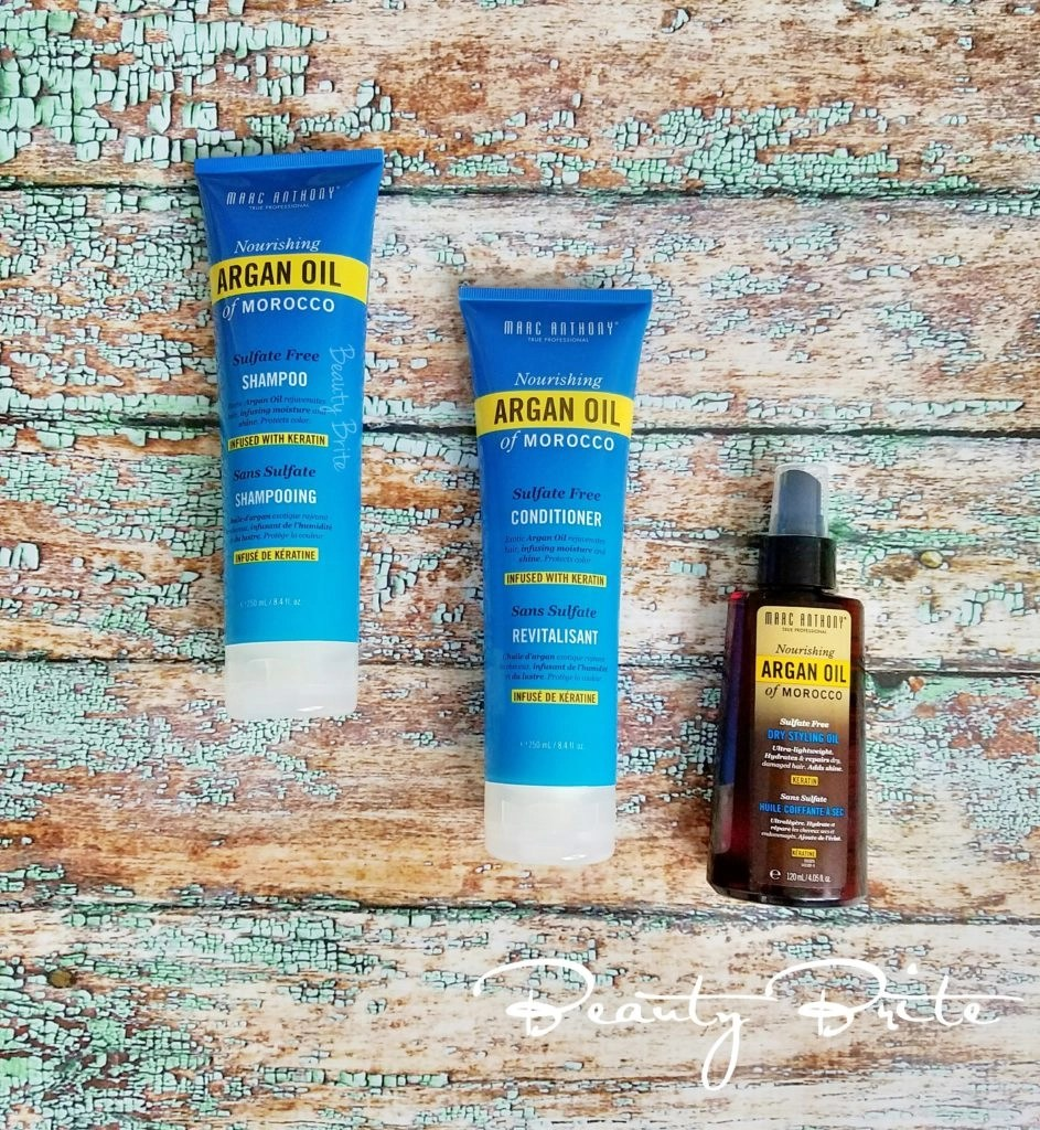 Marc Anthony argan oil hair products