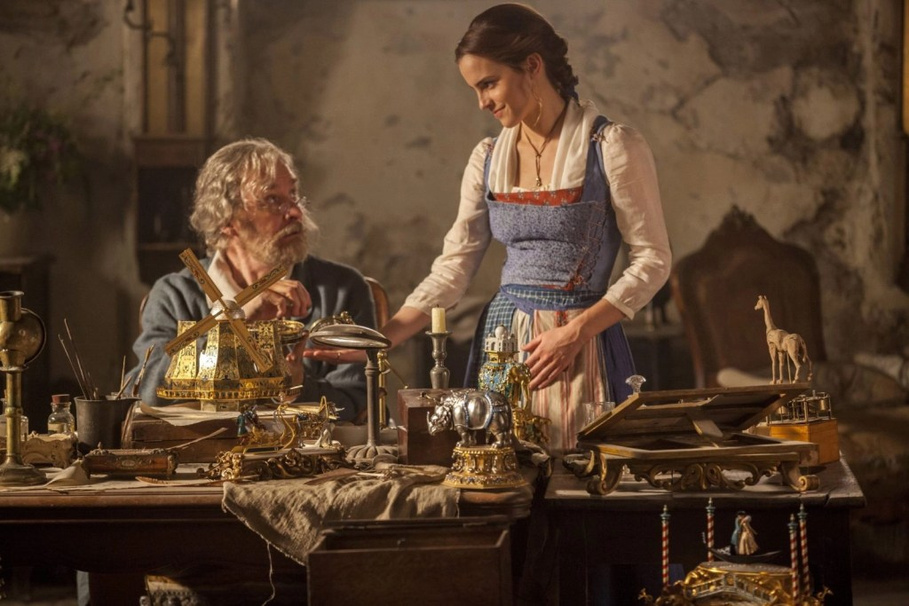 BeautyAndTheBeast Belle and Father