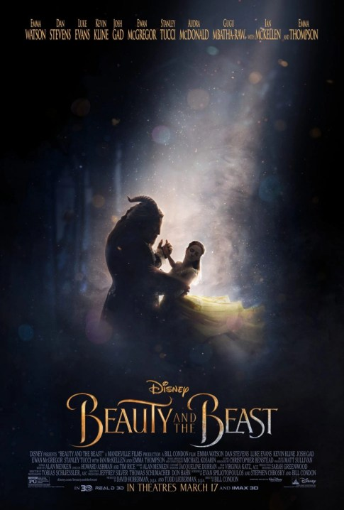 Check Out The New Poster For Disney's Beauty and the Beast