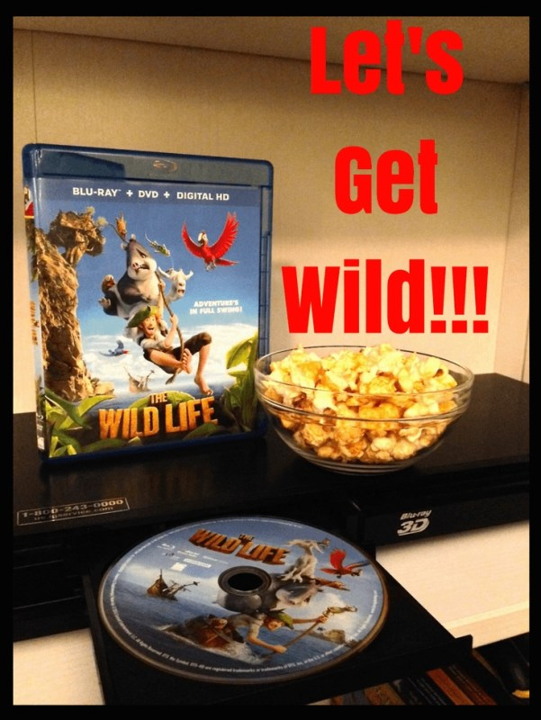Let's Get Wild -- DVD-The Wild Life from Lionsgate Entertainment