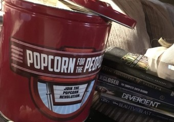 Movie Night With Flavored Popcorn