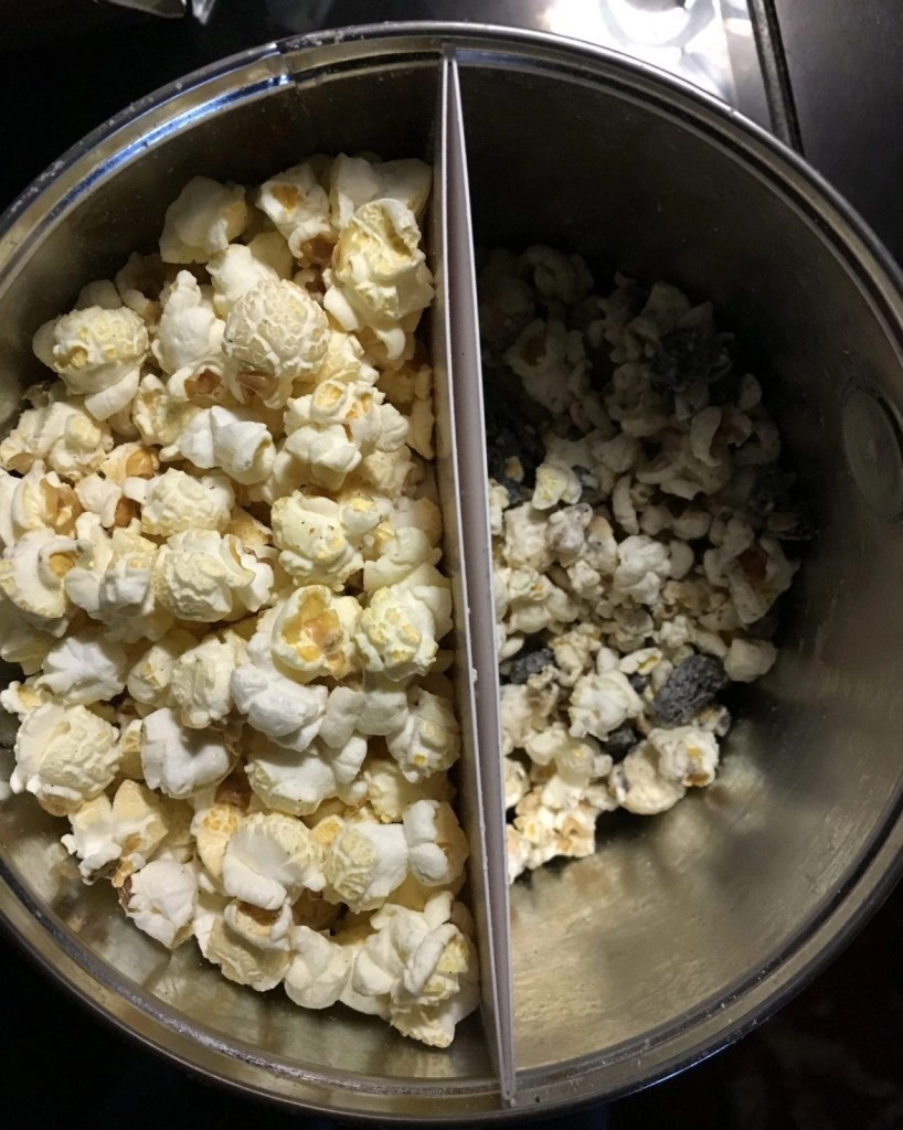 Popcorn for the People -- Salt & Vinegar, Cookies n' Cream