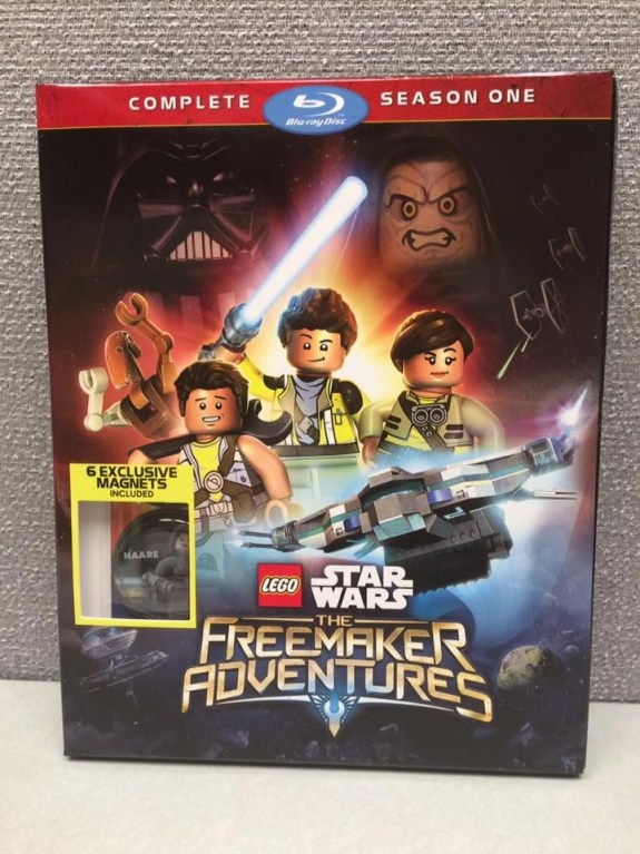 Lego Star Wars The Freemaker Adventures on Blu-Ray & DVD