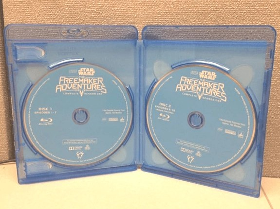 ego Star Wars The Freemaker Adventures on Blu-Ray & DVD