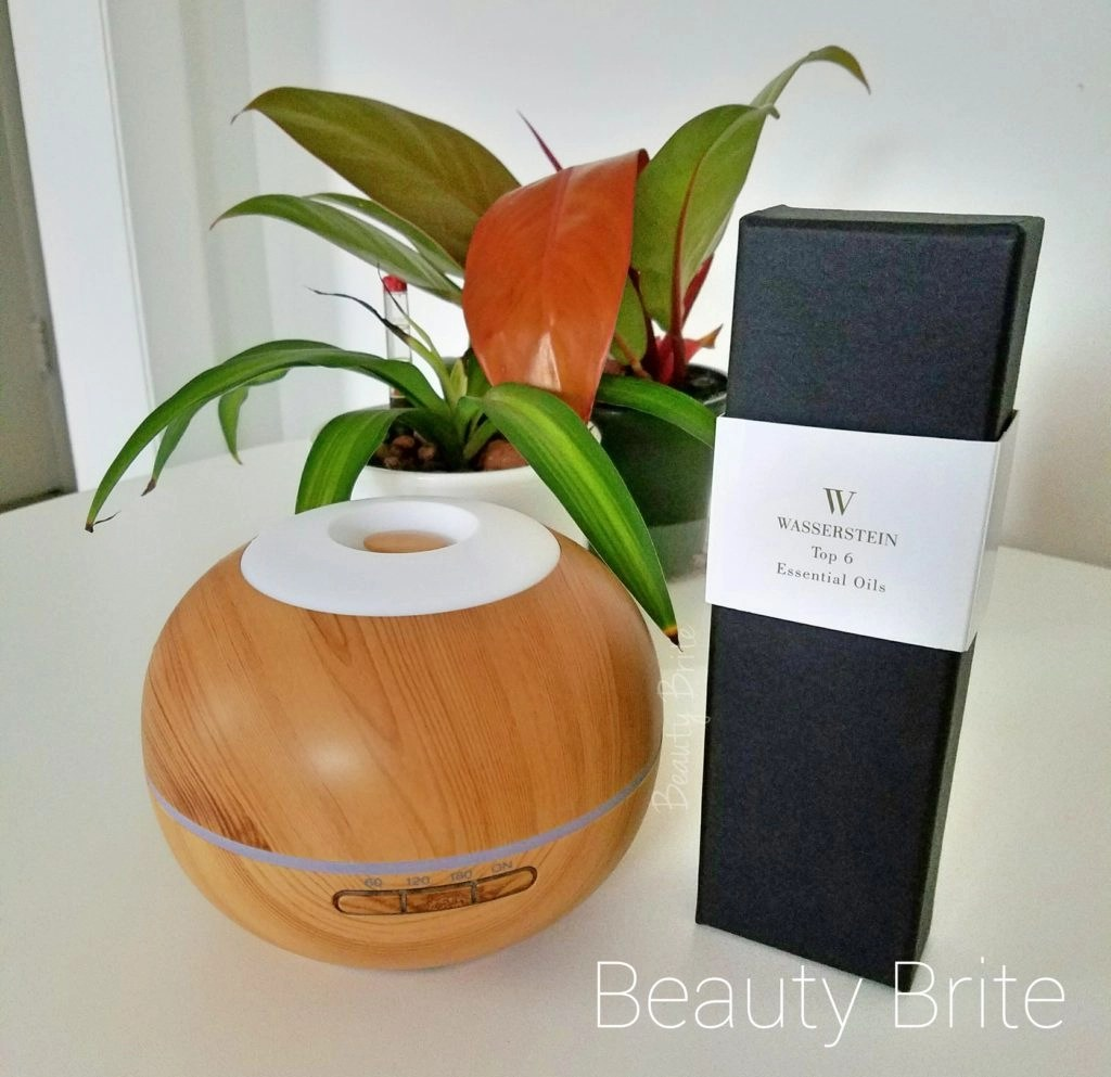 Aromatherapy Oil Diffuser and Oil Set