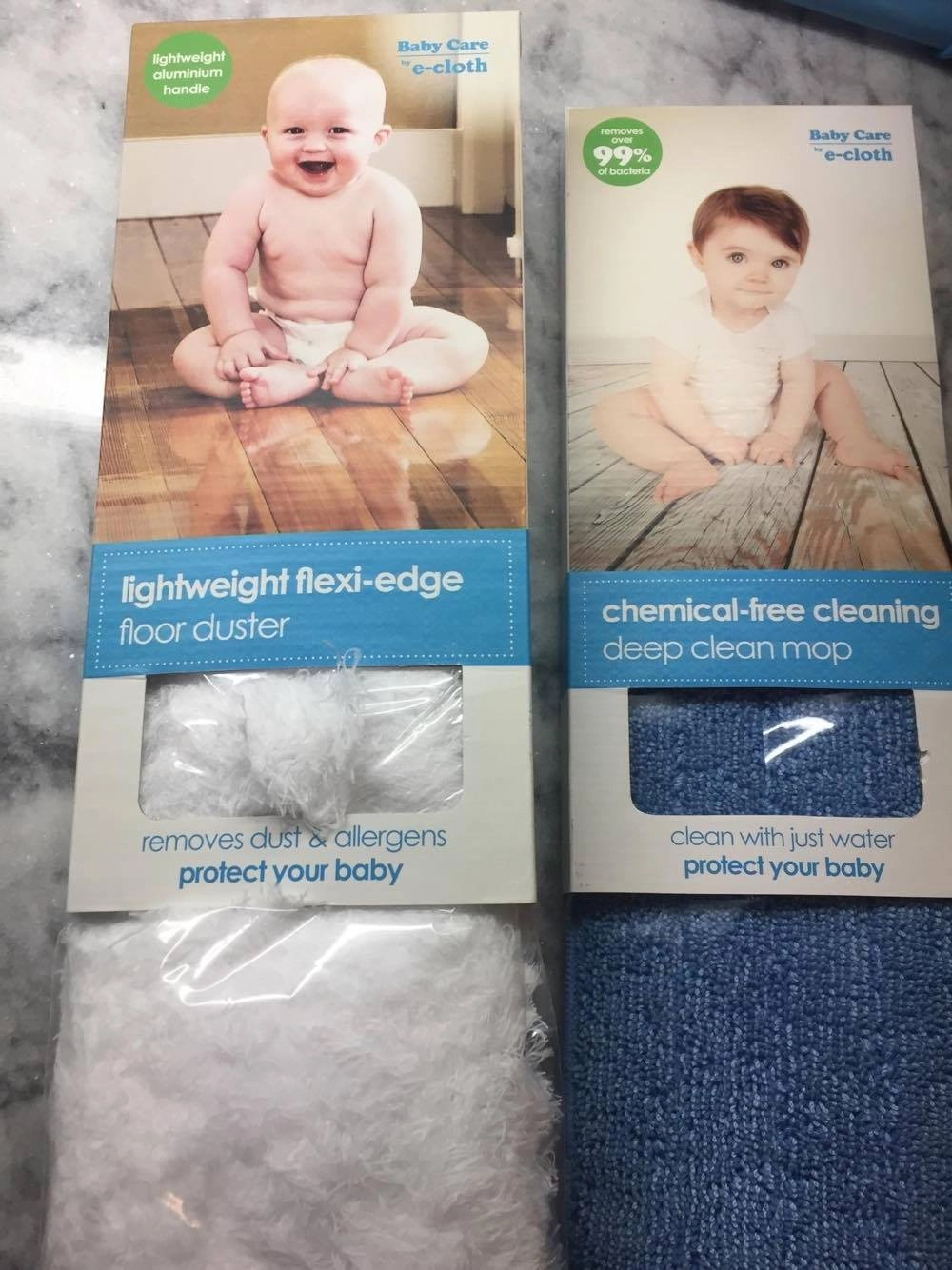 Chemical free cleaning deep cleaning mop