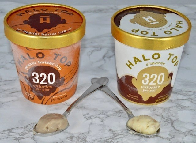 Halo Top Peanut Butter Cup & S'mores