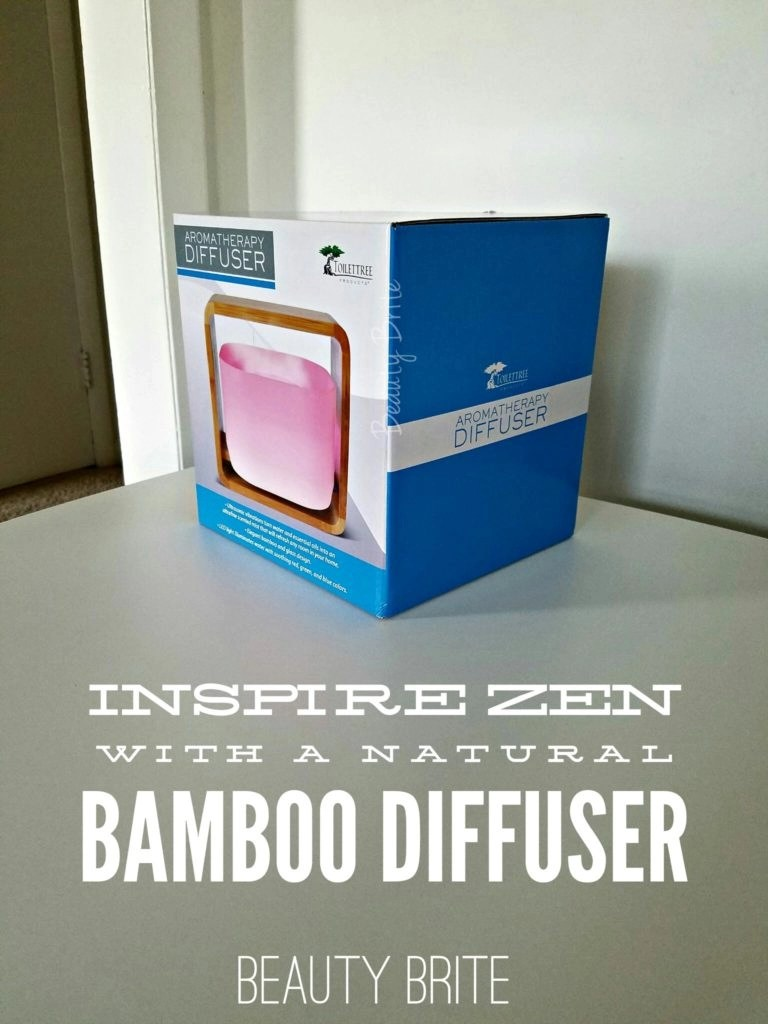 Inspire Zen With A Natural Bamboo Diffuser
