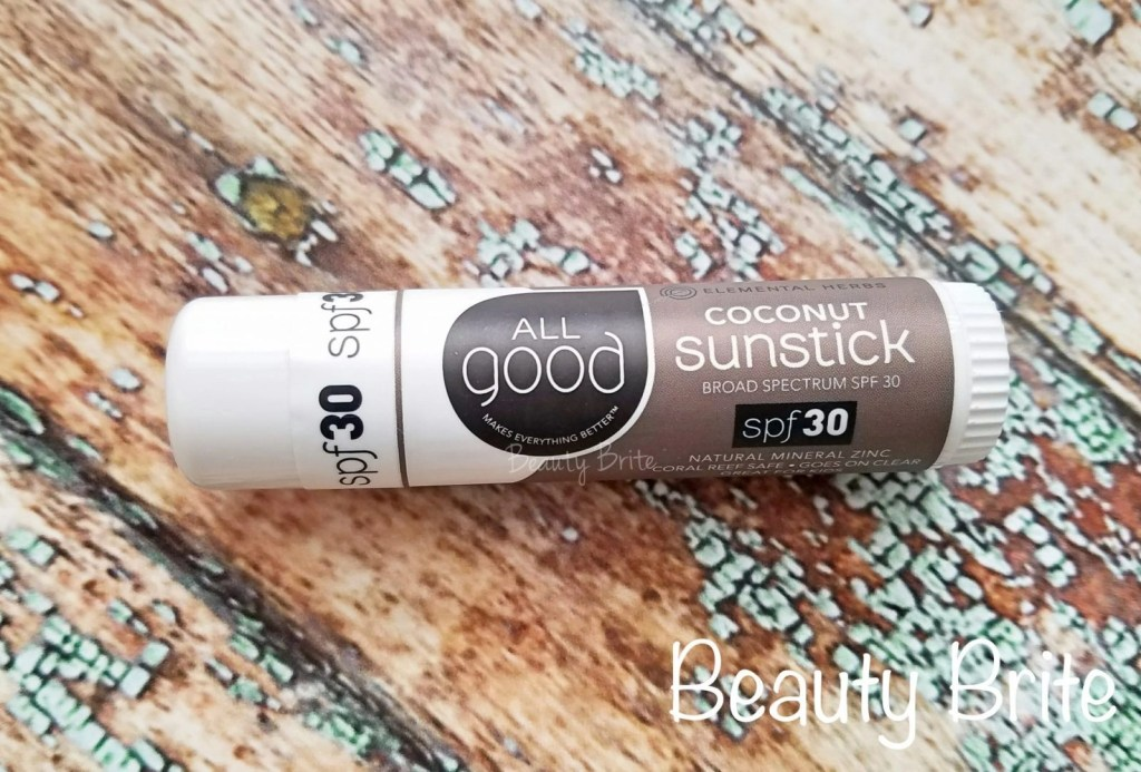 All Good Coconut  Sunstick