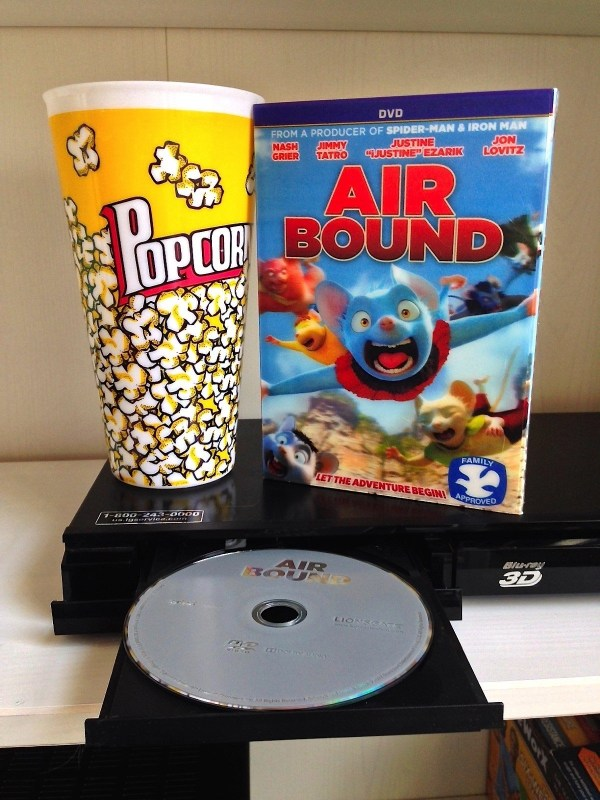 Family Friendly Entertainment from Lionsgate Films - DVD- Air Bound from Lionsgate Films