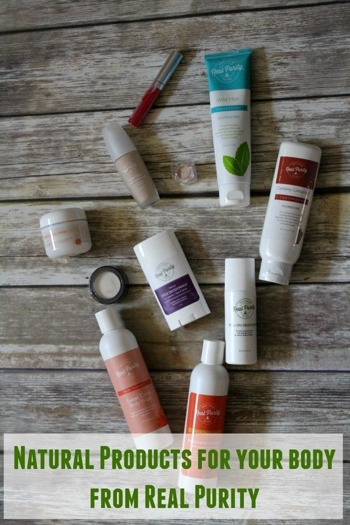 Natural Products for your body from Real Purity