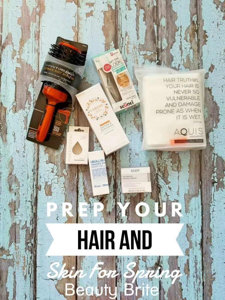 Prep Your Hair And Skin For Spring