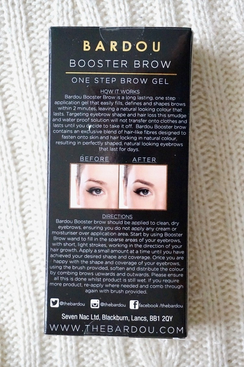 Bardou Booster Brow One Step Brow Gel