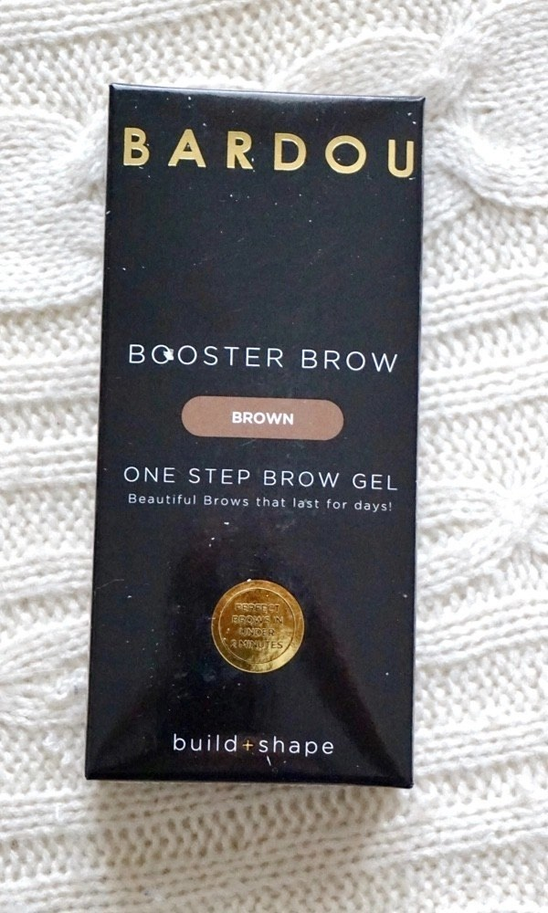 One Simple Step To Beautiful Brows - Bardou Booster Brow One Step Brow Gel