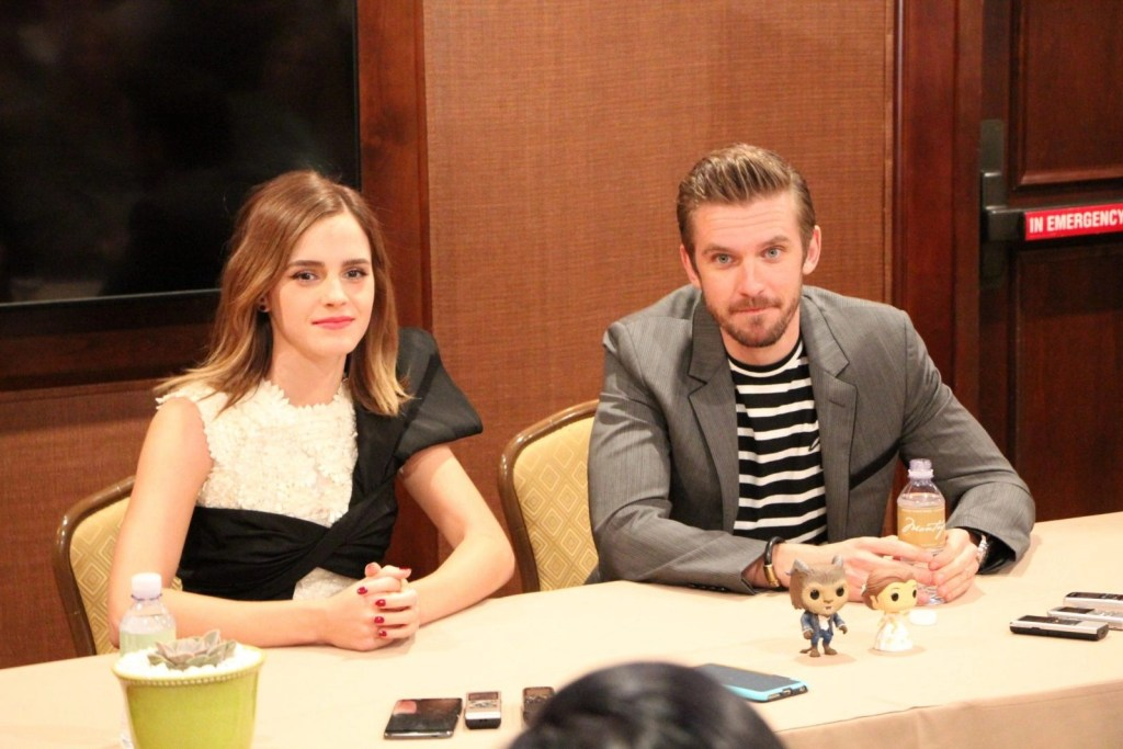 Beauty And The Beast Interview With Emma Watson And Dan Stevens #BeOurGuestEvent