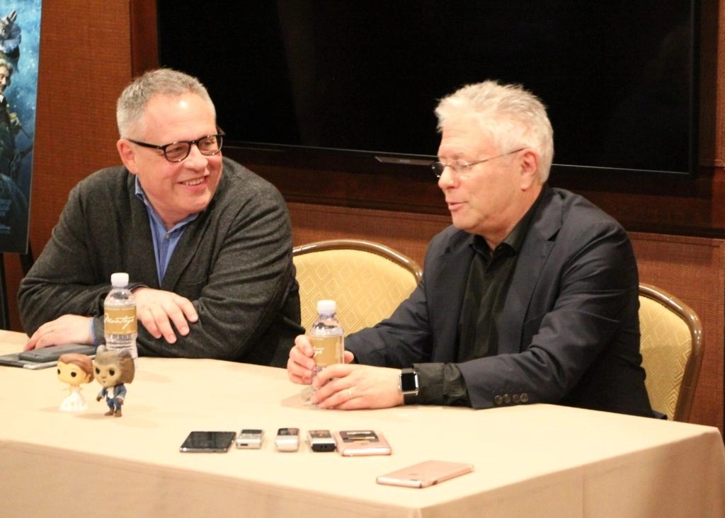 Bill Condon and Alan Menken on collaborating
