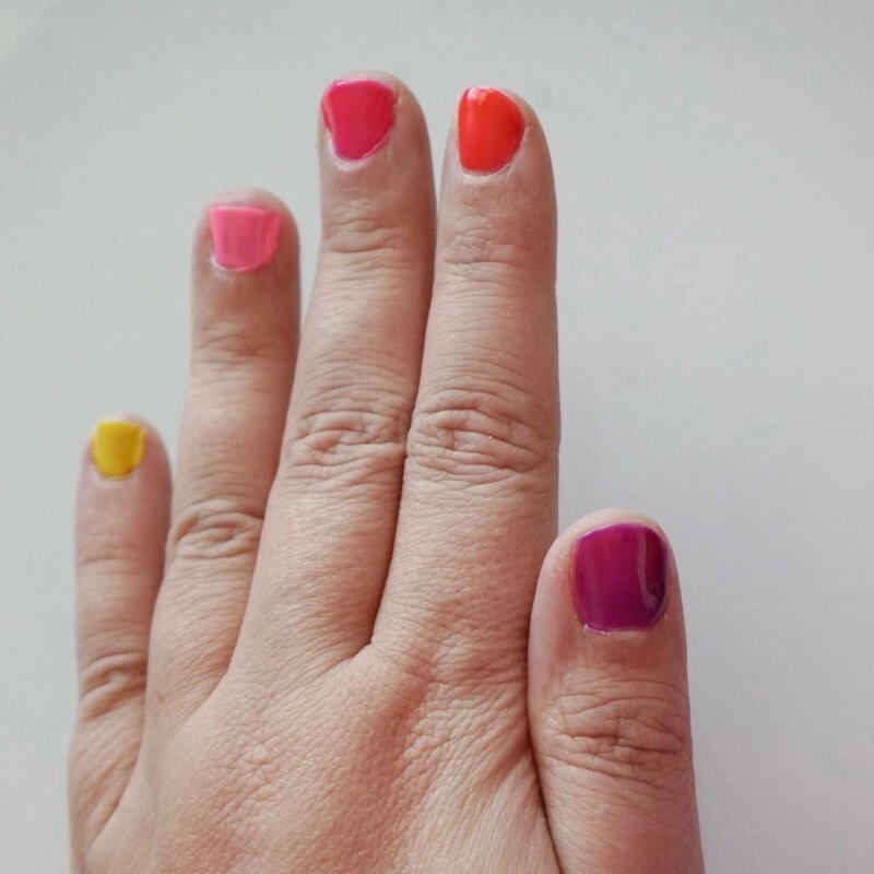 Color Eccentric Collection Nail Swatch