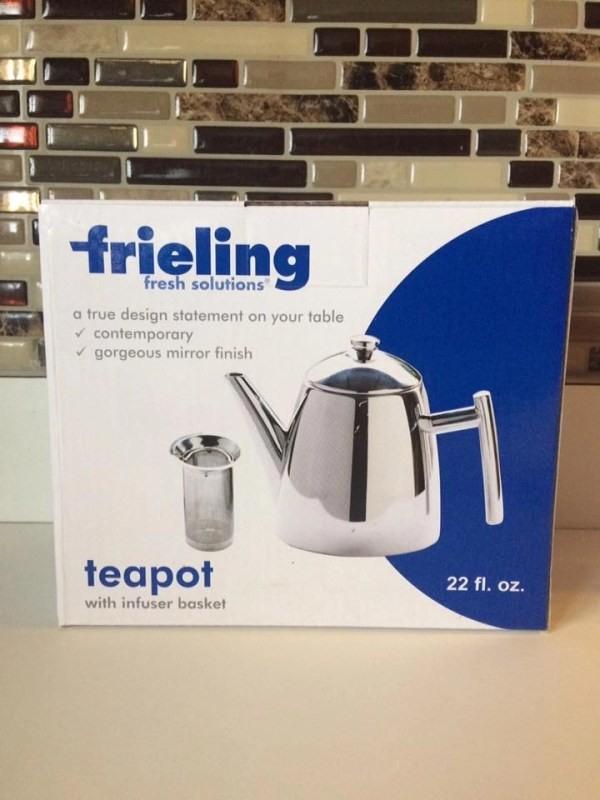 Frieling Fresh Solutions Teapot with Infuser Basket