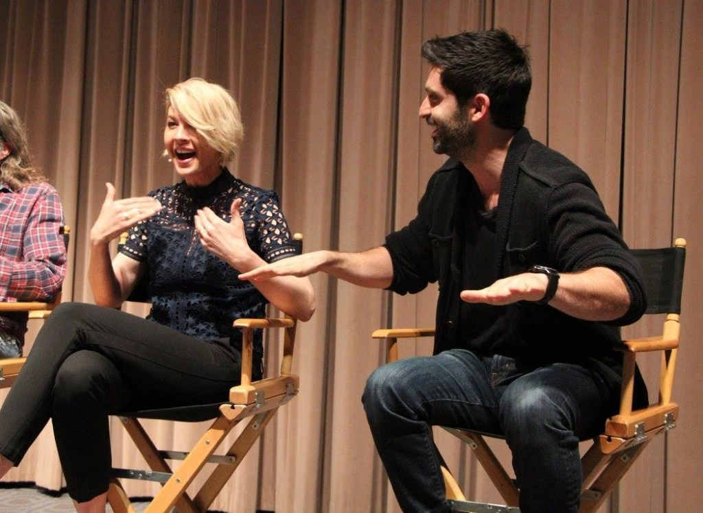 Jenna Elfman and Stephen Schneider on playing the characters