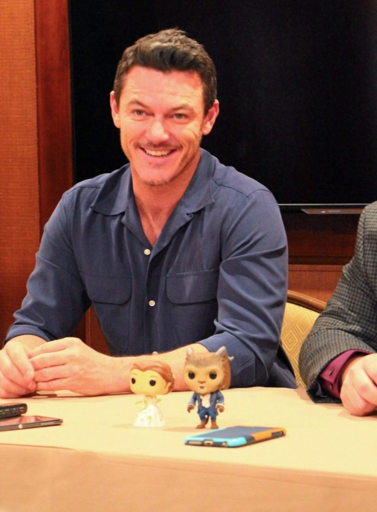 Luke Evans discusing telling his family about the movie