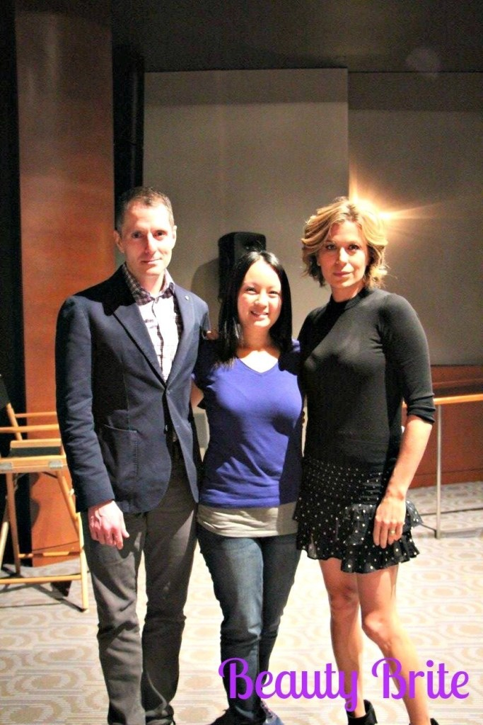 Pictured with Sonya Walger and Allan Heinberg