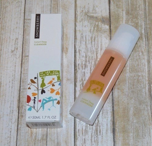 Snowberry Instant Deep Cleanser