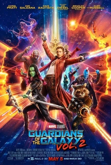 New Trailer and Poster Available from Guardians of the Galaxy Volume 2