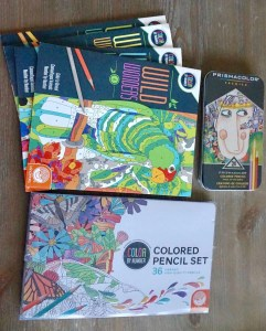 Adult Coloring Items to help destress