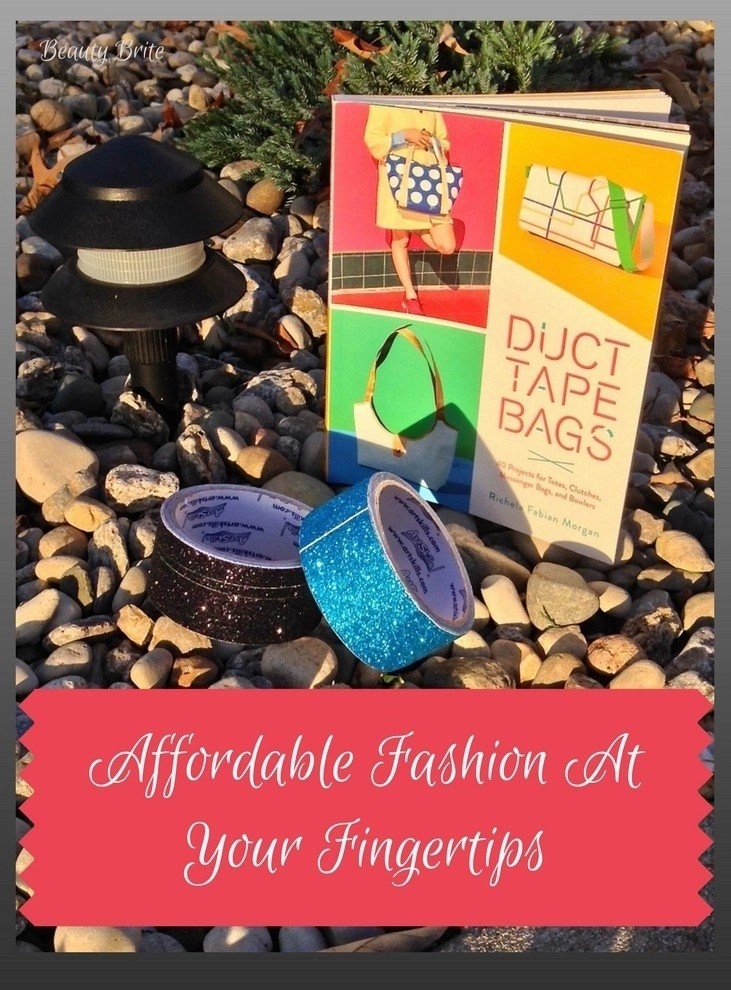 Affordable Fashion At Your Fingertips - Duct Tape Bags by Richela Fabian Morgan