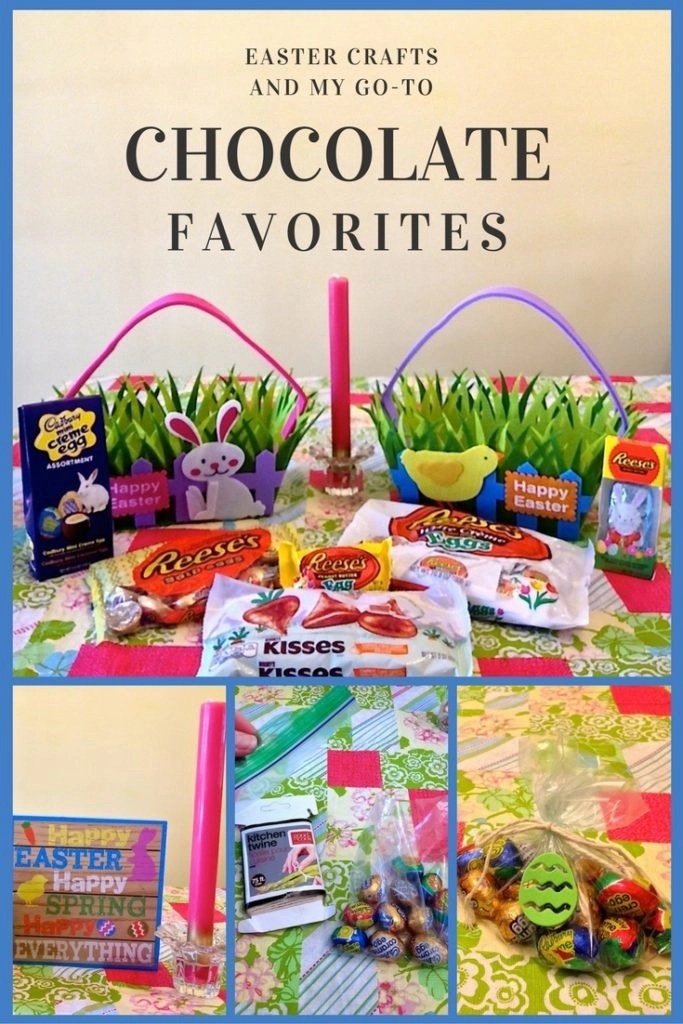 Easter Crafts And My Go-To Chocolate Favorites