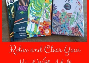 Relax and Clear Your Mind With Adult Coloring Books