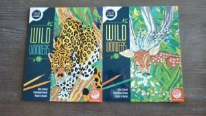 Wild Wonders Adult Coloring Books