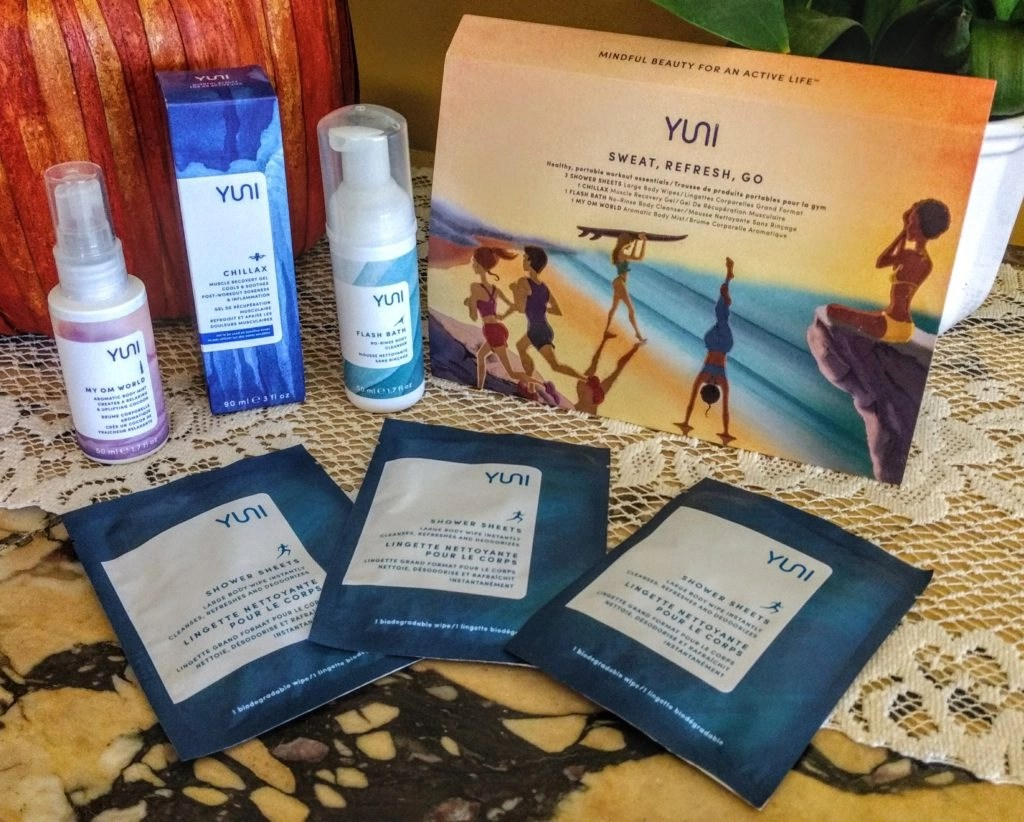 YUNI Sweat Refresh Go Kit