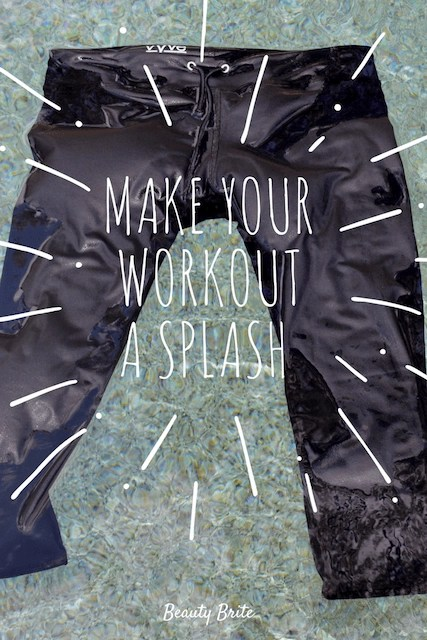 Make Your Workout a Splash