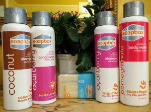 SoapBox: Hair Care That Lends A Helping Hand