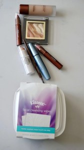 Makeup items available at the drugstore