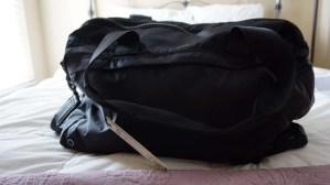 The Core 2.0 Daily Duffel filled with travel essentials