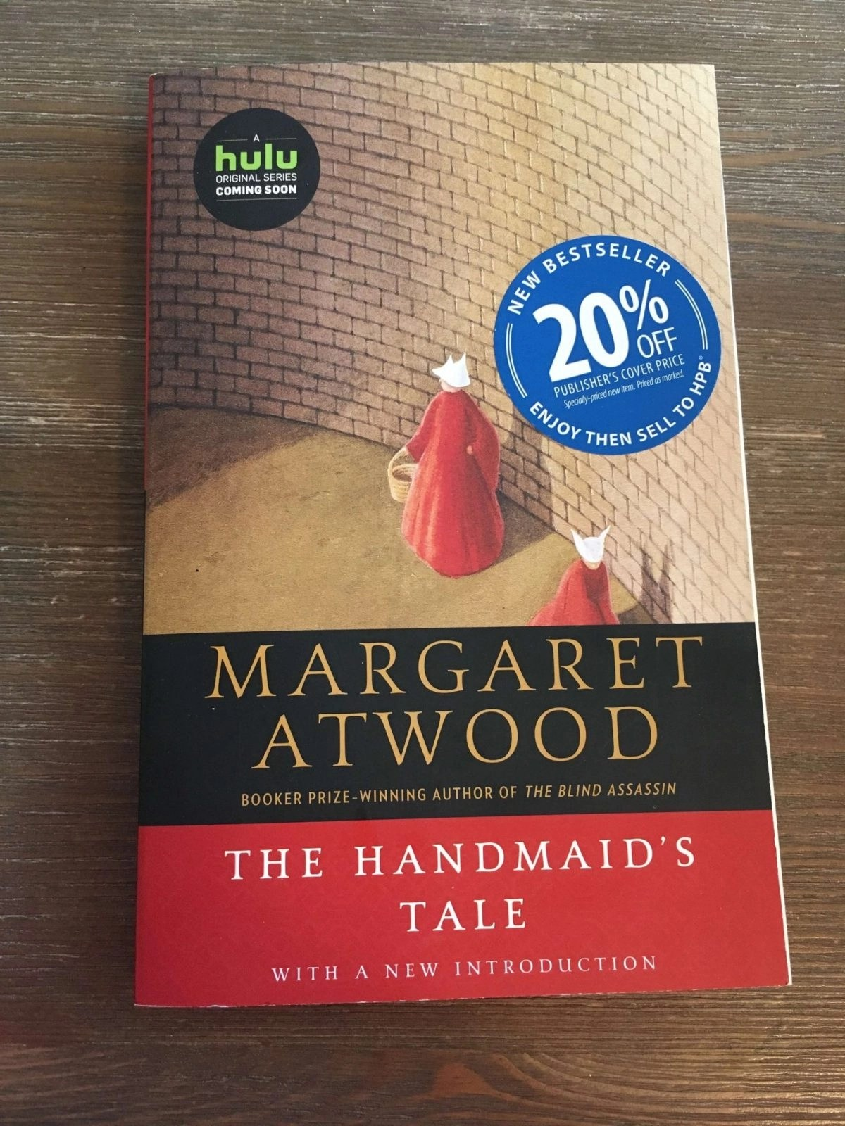 The Handmaid's Tale Front Cover of Novel